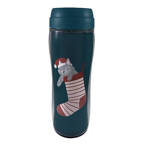 St. Nicholas Square® Stocking Cat Thermal Mug