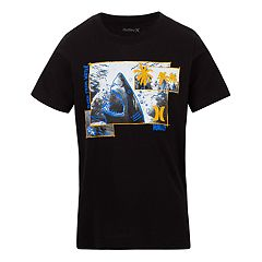 Boys 4-7 Hurley Sketchy Shark Graphic Tee