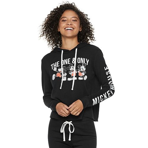"""Disney's Mickey Mouse 90th Anniversary Juniors' """"The One & Only"""" Fleece Hoodie"""