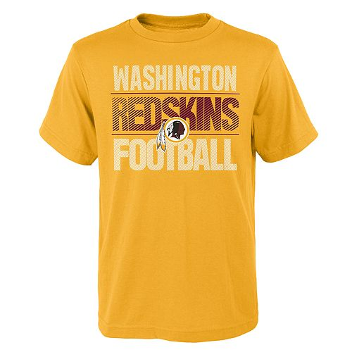 Boys 4-18 Washington Redskins Light Streaks Tee