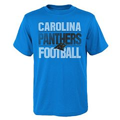 Boys 4-18 Carolina Panthers Light Streaks Tee