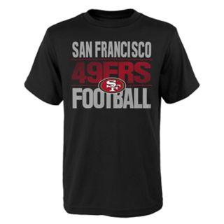Boys 4-18 San Francisco 49ers Light Streaks Tee