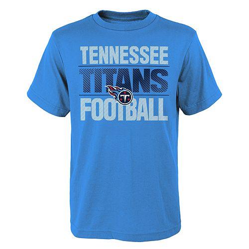 Boys 4-18 Tennessee Titans Light Streaks Tee