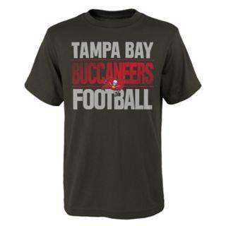 Boys 4-18 Tampa Bay Buccaneers Light Streaks Tee
