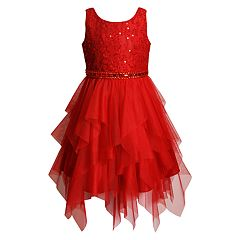 Girls 4-6x Youngland Lace Tulle Dress