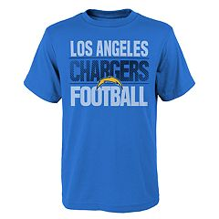Boys 4-18 Los Angeles Chargers Light Streaks Tee