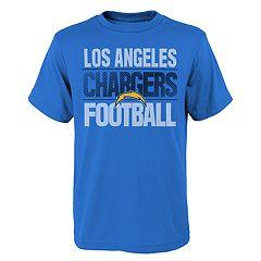 ffd7ef225a Boys 4-18 Los Angeles Chargers Light Streaks Tee