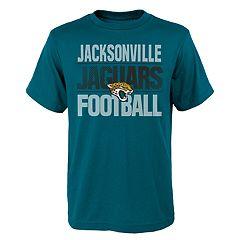 Boys 4-18 Jacksonville Jaguars Light Streaks Tee