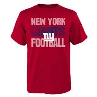 Boys 4-18 New York Giants Light Streaks Tee