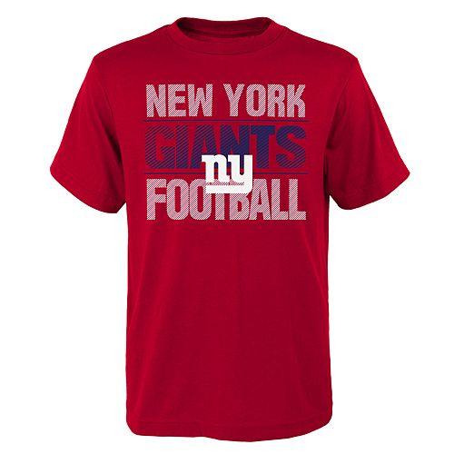 Boys 4-18 New York Giants Light Streaks Tee