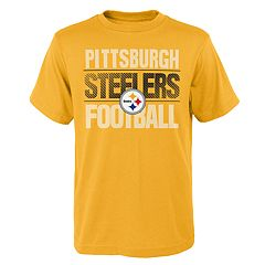 Boys 4-18 Pittsburgh Steelers Light Streaks Tee