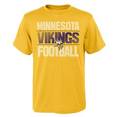 Boys 4-18 Minnesota Vikings Light Streaks Tee