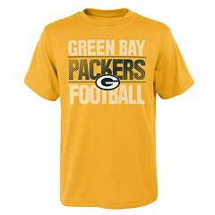 Boys 4-18 Green Bay Packers Light Streaks Tee
