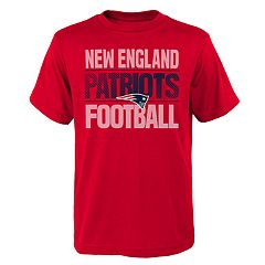 Boys 4-18 New England Patriots Light Streaks Tee