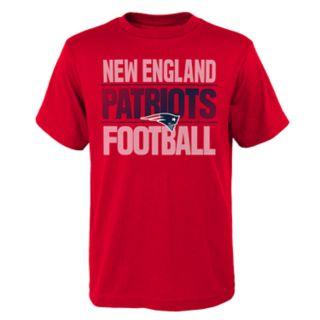 Boys 4-18 New EnglandPatriots Light Streaks Tee