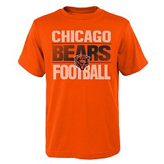 Boys 4-18 Chicago Bears Light Streaks Tee