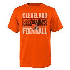 Boys 4-18 Cleveland Browns Light Streaks Tee