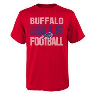 Boys 4-18 Buffalo Bills Light Streaks Tee