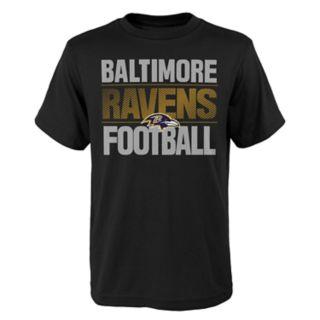 Boys 4-18 Baltimore Ravens Light Streaks Tee