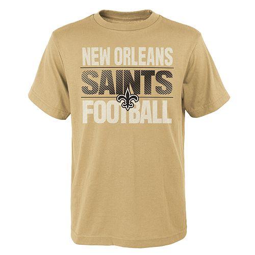 Boys 4-18 New Orleans Saints Light Streaks Tee