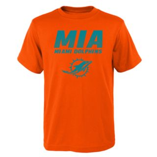Boys 4-18 Miami Dolphins Hometown Tee
