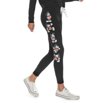 Disney's Mickey Mouse 90th Anniversary Juniors' Fleece Jogger Pants