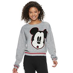 Disney's Mickey Mouse 90th Anniversary Juniors' Intarsia Sweater