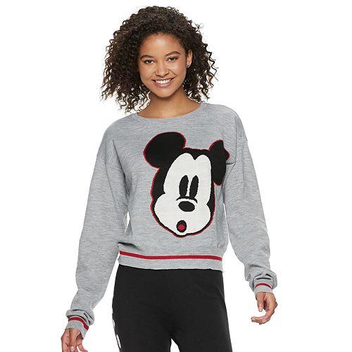 Disney's Mickey Mouse 90th Anniversary Juniors' Intarsia Sweater