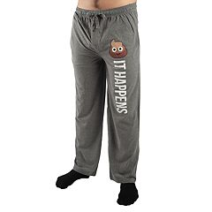 Men's Poop Emoji 'It Happens' Sleep Pants