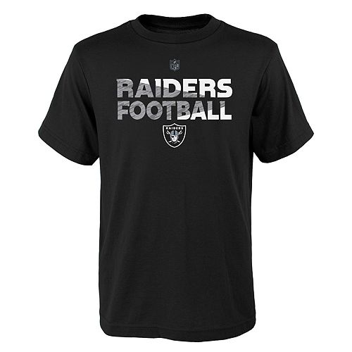 Boys 4-18 Oakland Raiders Flux Tee