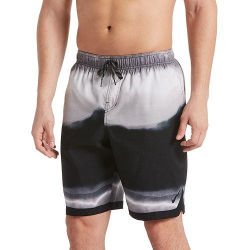 728a77f325965 Men's Nike Optic Halo Horizon 9-inch Volley Swim Trunks