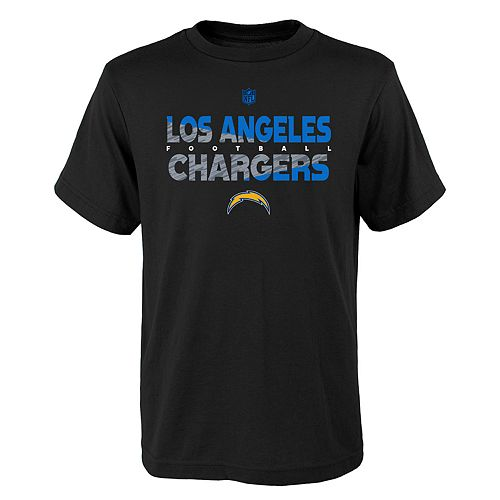 Boys 4-18 Los Angeles Chargers Flux Tee