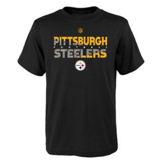 Boys 4-18 Pittsburgh Steelers Flux Tee