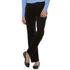 Women's Croft & Barrow® Comfort Waist Straight-Leg Corduroy Pants