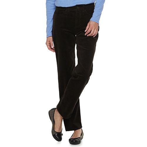 fe9fd836 Women's Croft & Barrow® Comfort Waist Straight-Leg Corduroy Pants