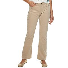 Women's Croft & Barrow® Classic Corduroy Bootcut Pants