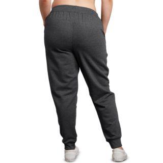 Plus Size Champion MidRise Fleece Jogger Pants