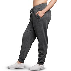 Plus Size Champion MidRise Fleece Jogger Pants
