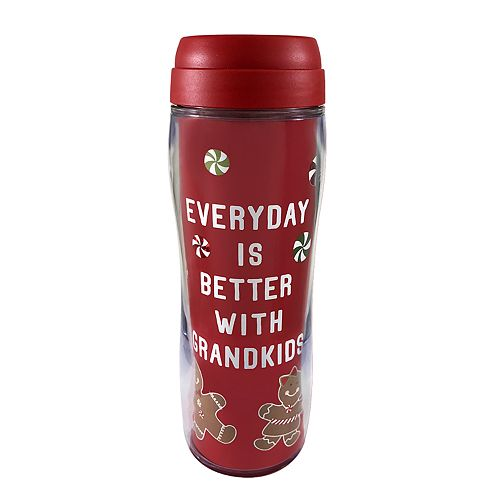 """St. Nicholas Square® """"Every Day is Better with Grandkids"""" Thermal Mug"""