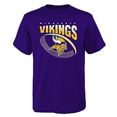 Boys 4-18 Minnesota Vikings Vortex Ball Tee
