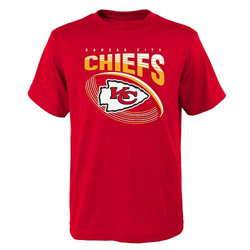 Boys 4-18 Kansas City Chiefs Vortex Ball Tee