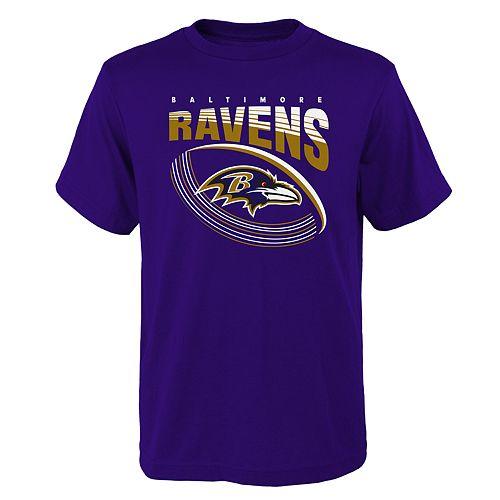Boys 4-18 Baltimore Ravens Vortex Ball Tee