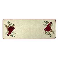 St. Nicholas Square  36-in Cardinal Table Runner Deals