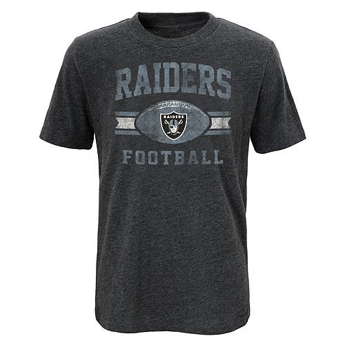 Boys 4-18 Oakland Raiders Player Pride Tee
