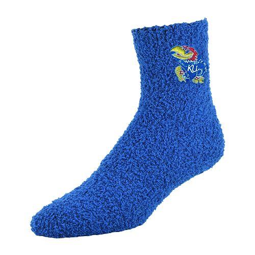 Adult Kansas Jayhawks Gripper Socks