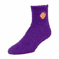Adult Clemson Tigers Gripper Socks