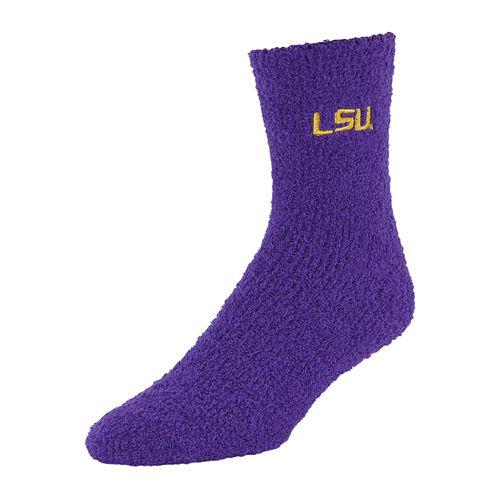 Adult LSU Tigers Gripper Socks