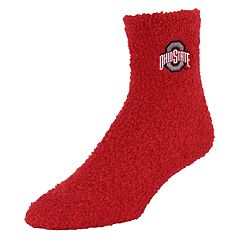 Adult Ohio State Buckeyes Gripper Socks