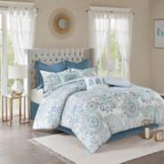 Madison Park Loleta 8-piece Reversible Comforter Set