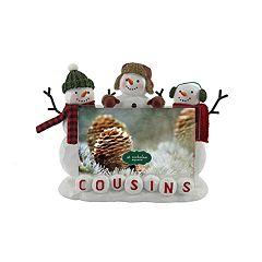 St. Nicholas Square® 'Cousins' Snowman 4' x 6' Frame